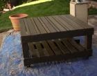 Zunanja miza iz odpadnih palet